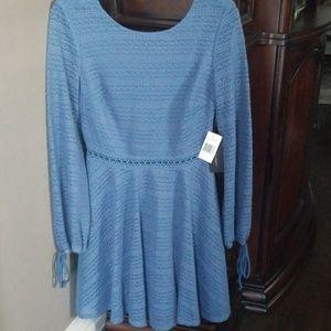 Jodi Kristopher Embroidered Dress